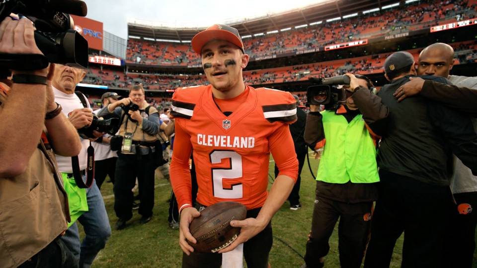 Johnny Manziel commits to The Spring League showcase
