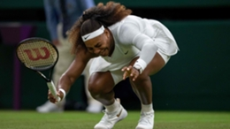 Serena Williams was forced to retire at Wimbledon
