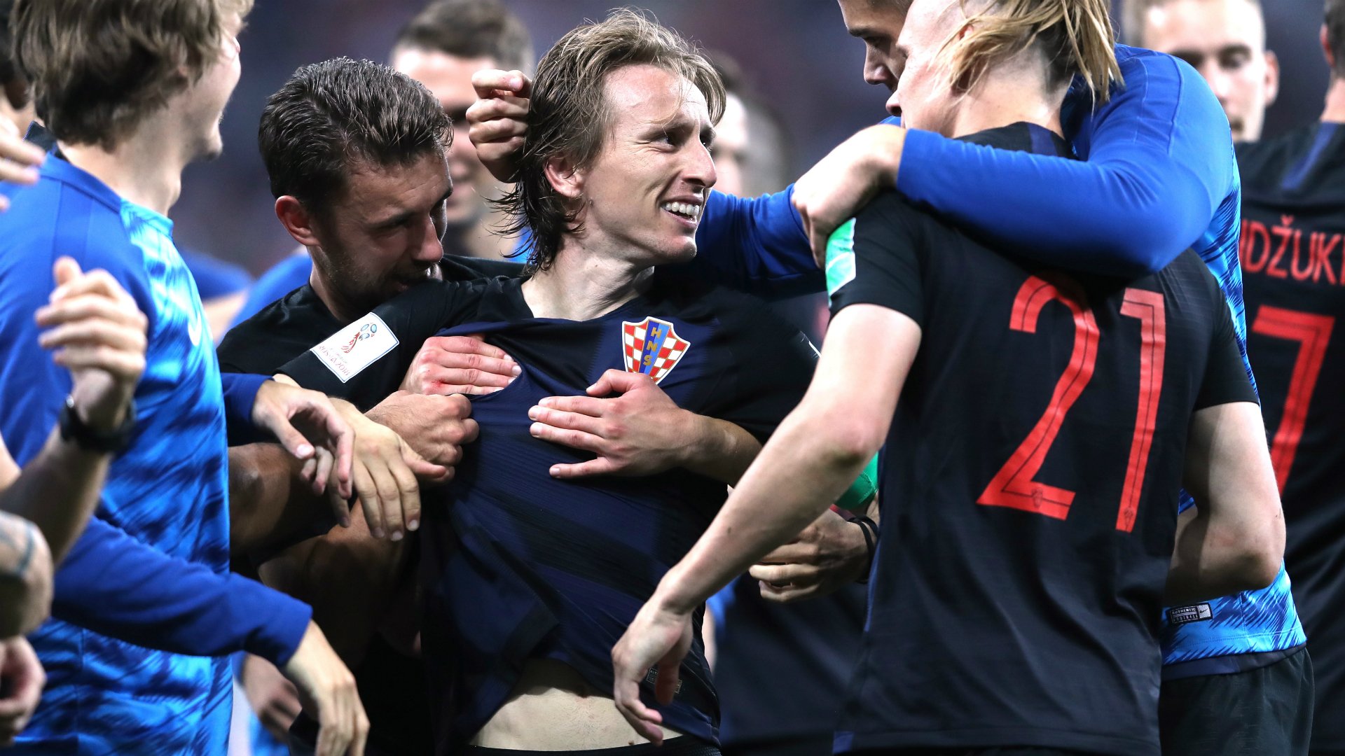 Croatia ends Russia's World Cup dream
