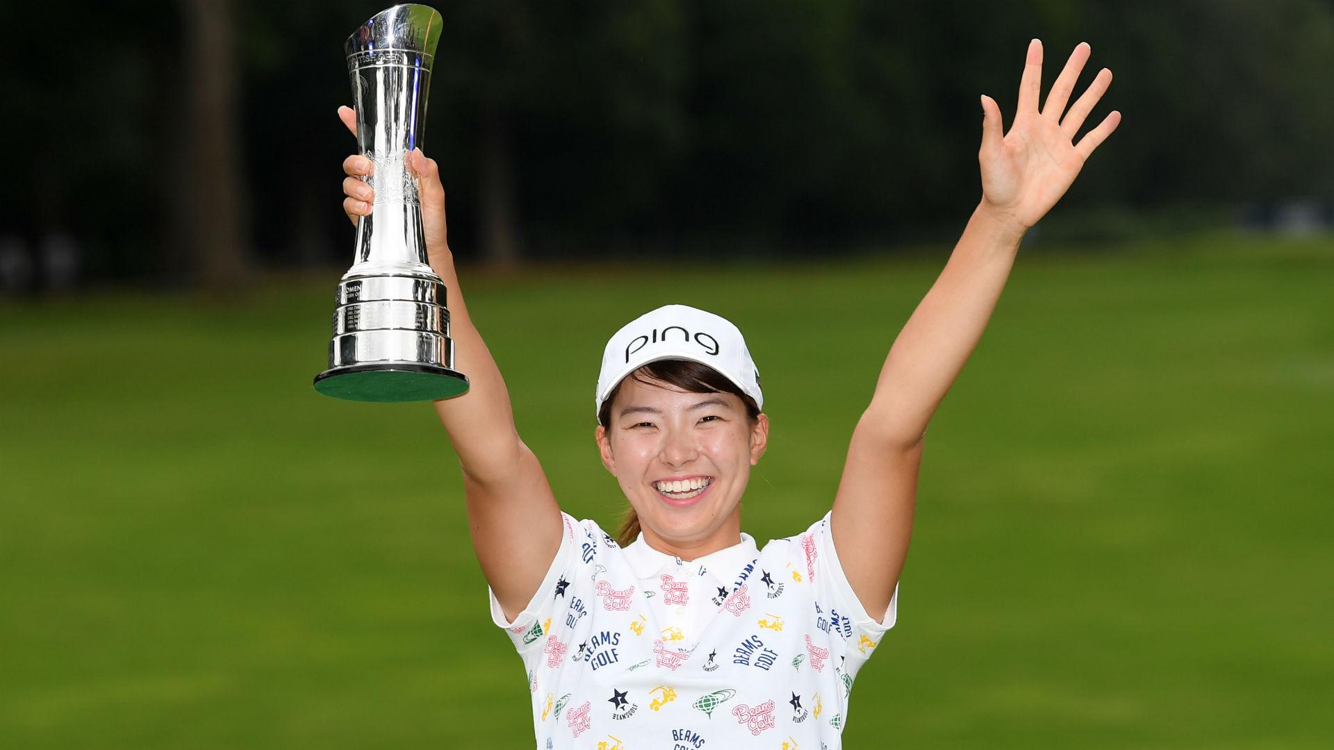hinako shibuno wins women u0026 39 s british open in major