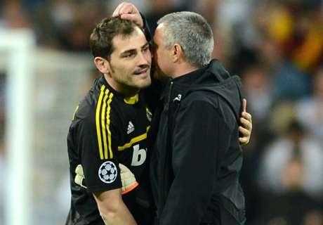 Casillas takes swipe at Mourinho