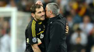 iker casillas jose mourinho - cropped