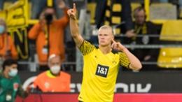 Borussia Dortmund star Erling Haaland