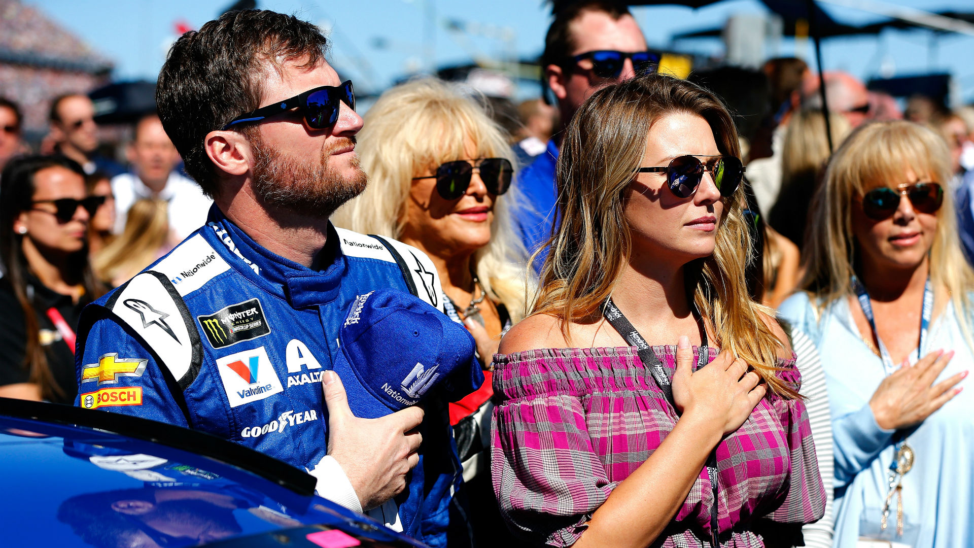 Dale Earnhardt Jr. clarifies where he stands on anthem demonstrations