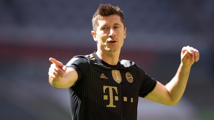 Lewandowski scored 41 Bundesliga goals for Bayern last season