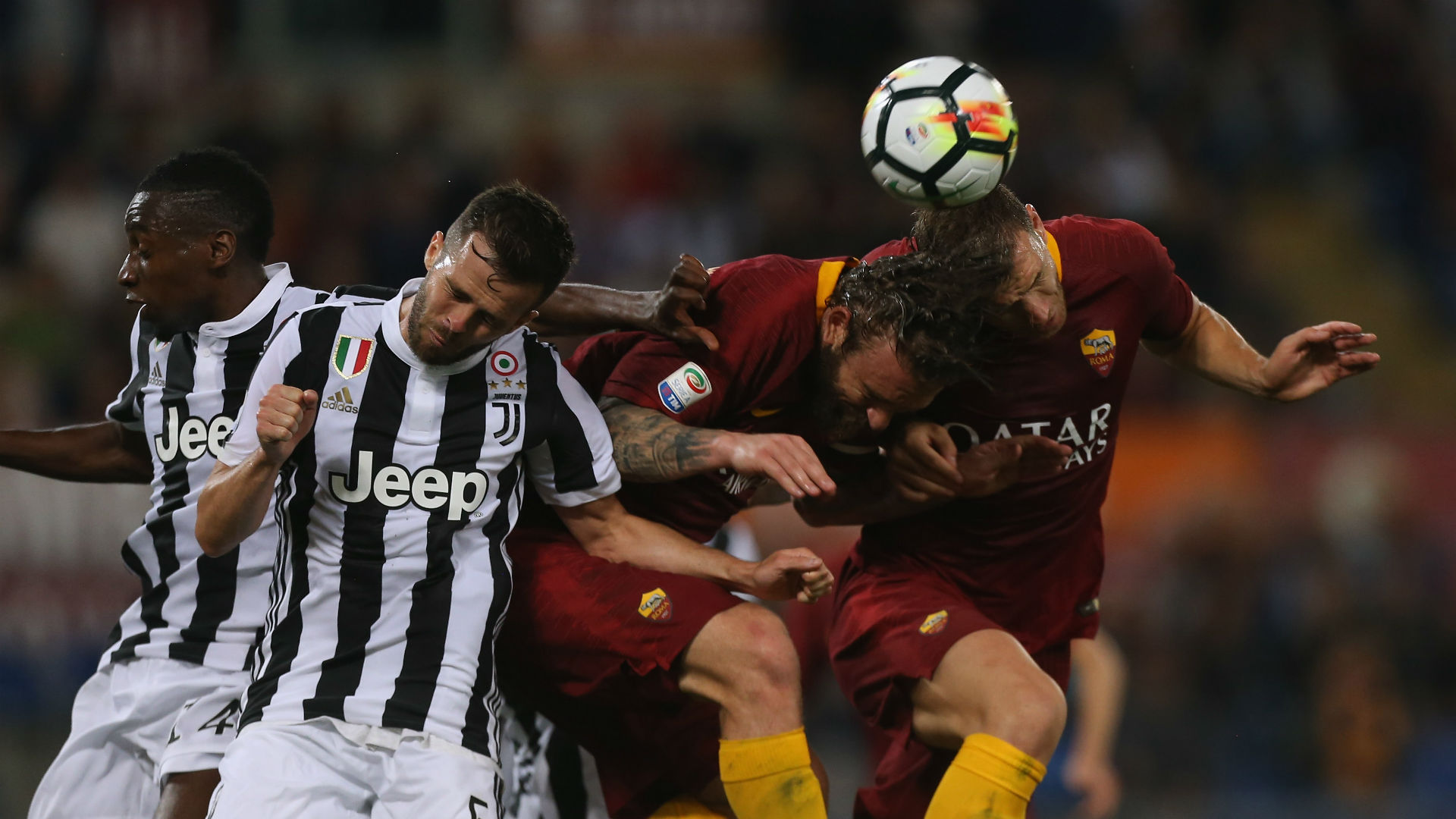 Di Francesco: Roma must learn from Juventus