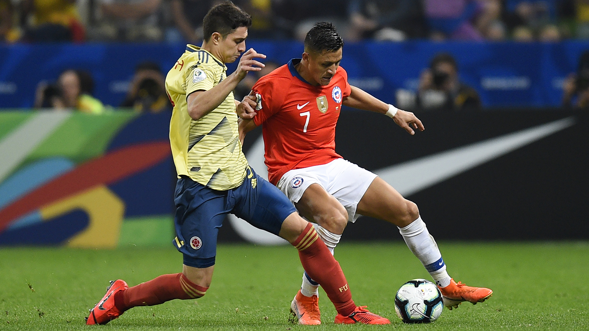 Colombia 0 - 0 Chile | 29 Jun 2019