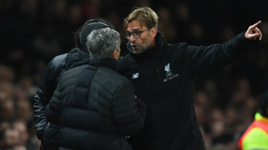 Klopp and Mourinho - Cropped