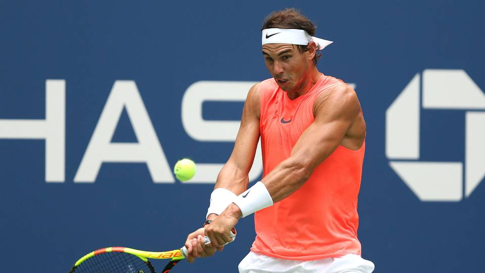 US Open 2018: Rafael Nadal works hard to escape unseeded Nikoloz Basilashvili