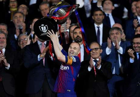 Dad: Good time for Iniesta to leave