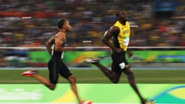 Usain Bolt defeated Andre De Grasse at Rio 2016 but the Canadian is now Olympic champion