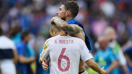 Ramos: If Iniesta was Andresinho, he would've won Ballon d'Or