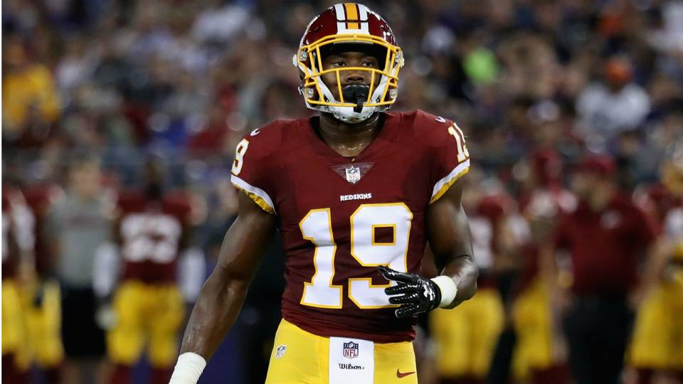 Redskins WR Robert Davis headed for IR, report says