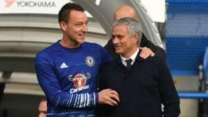 John Terry and Jose Mourinho - cropped
