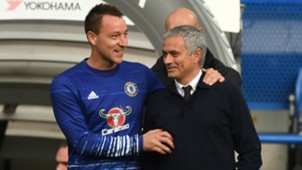 John Terry and Jose Mourinho - cropped