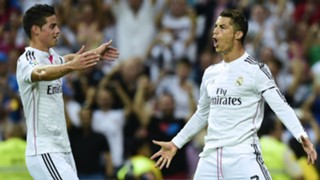 James Rodriguez Cristiano Ronaldo - Cropped