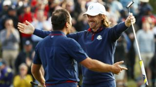 Francesco Molinari Tommy Fleetwood - cropped