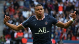Kylian Mbappe scored against Clermont on Saturday
