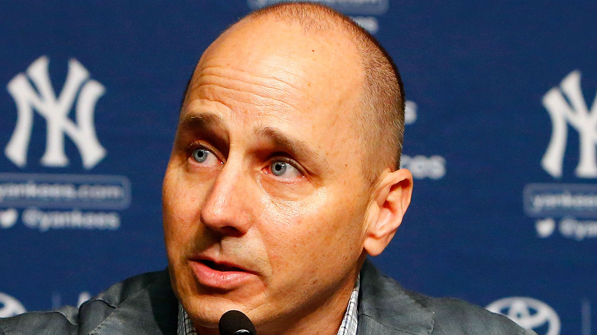 Yankees' Brian Cashman defends not landing starting pitcher, still rumored to be pursuing Gerrit Cole
