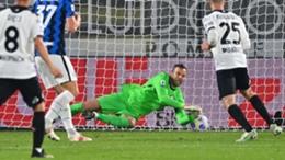 Inter goalkeeper Samir Handanovic was at fault for Spezia's goal