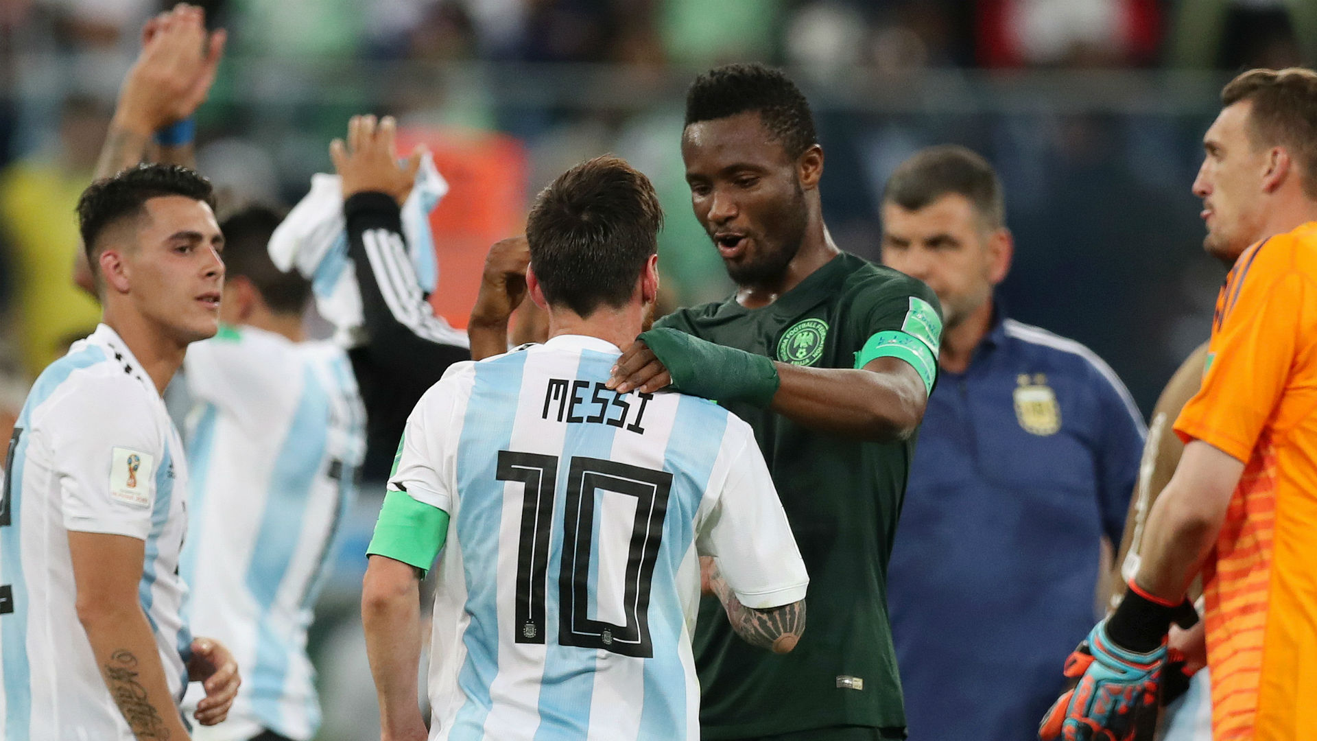 Image result for pic of mikel obi at russia world cup