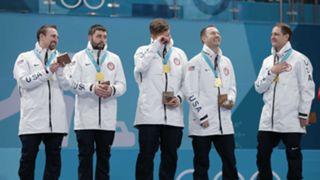 Team USA on the podium