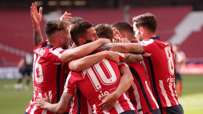 Atletico Madrid will be looking to hold on to their spot at LaLiga's summit this weekend