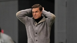 Scott Parker during Fulham's defeat to Burnley