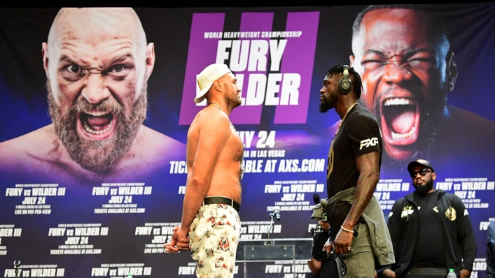 Tyson Fury and Deontay Wilder collide for a third time on October 9