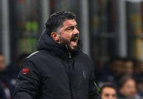 Gattuso 'furious' over Europa League exit
