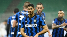 Former Inter full-back Achraf Hakimi