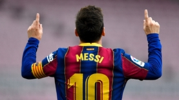 Lionel Messi scored 38 goals for Barcelona in all competitions last season
