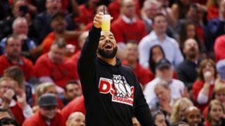 Drake during Game 4