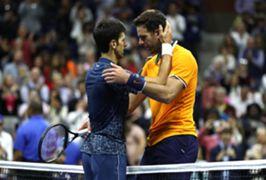 Novak Djokovic Juan Martin del Potro - cropped