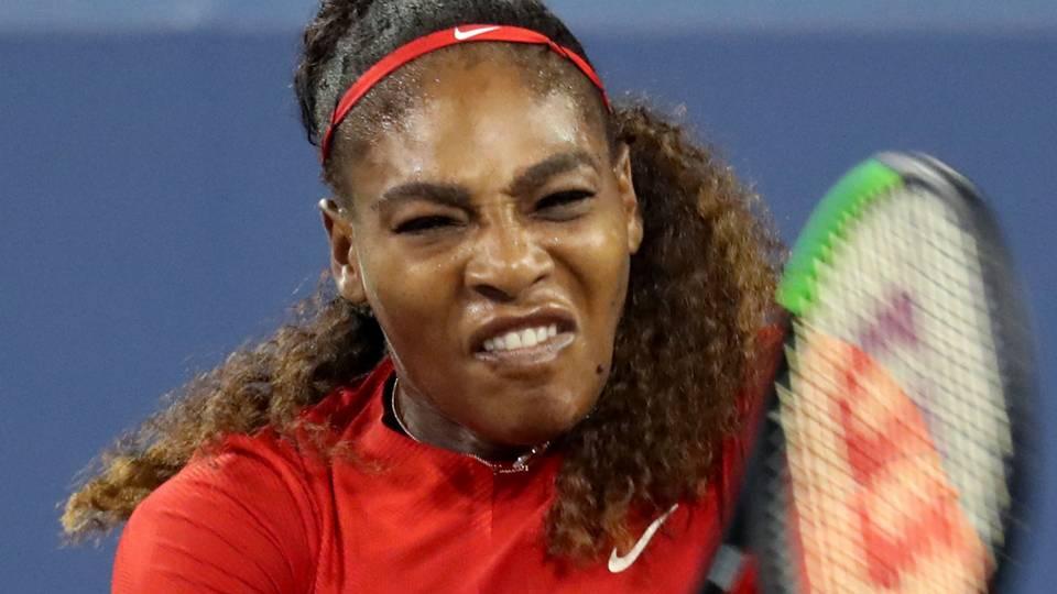 Serena Williams 'still at the very beginning' of comeback