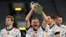 Joshua Kimmich has won 17 titles with Bayern Munich