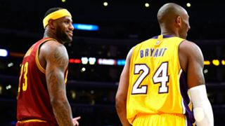 LeBron James Kobe Bryant - Cropped