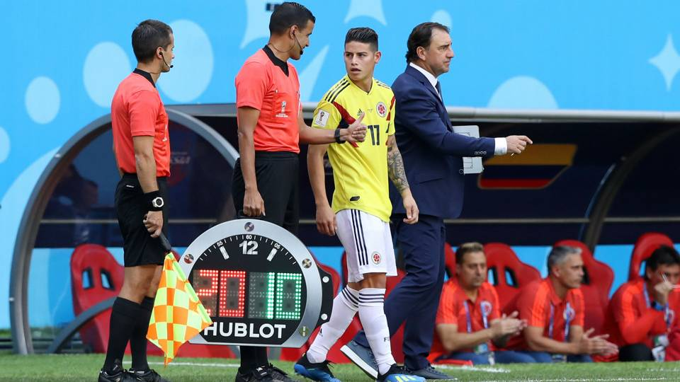 Pekerman contemplating unleashing James and Quintero together for Colombia