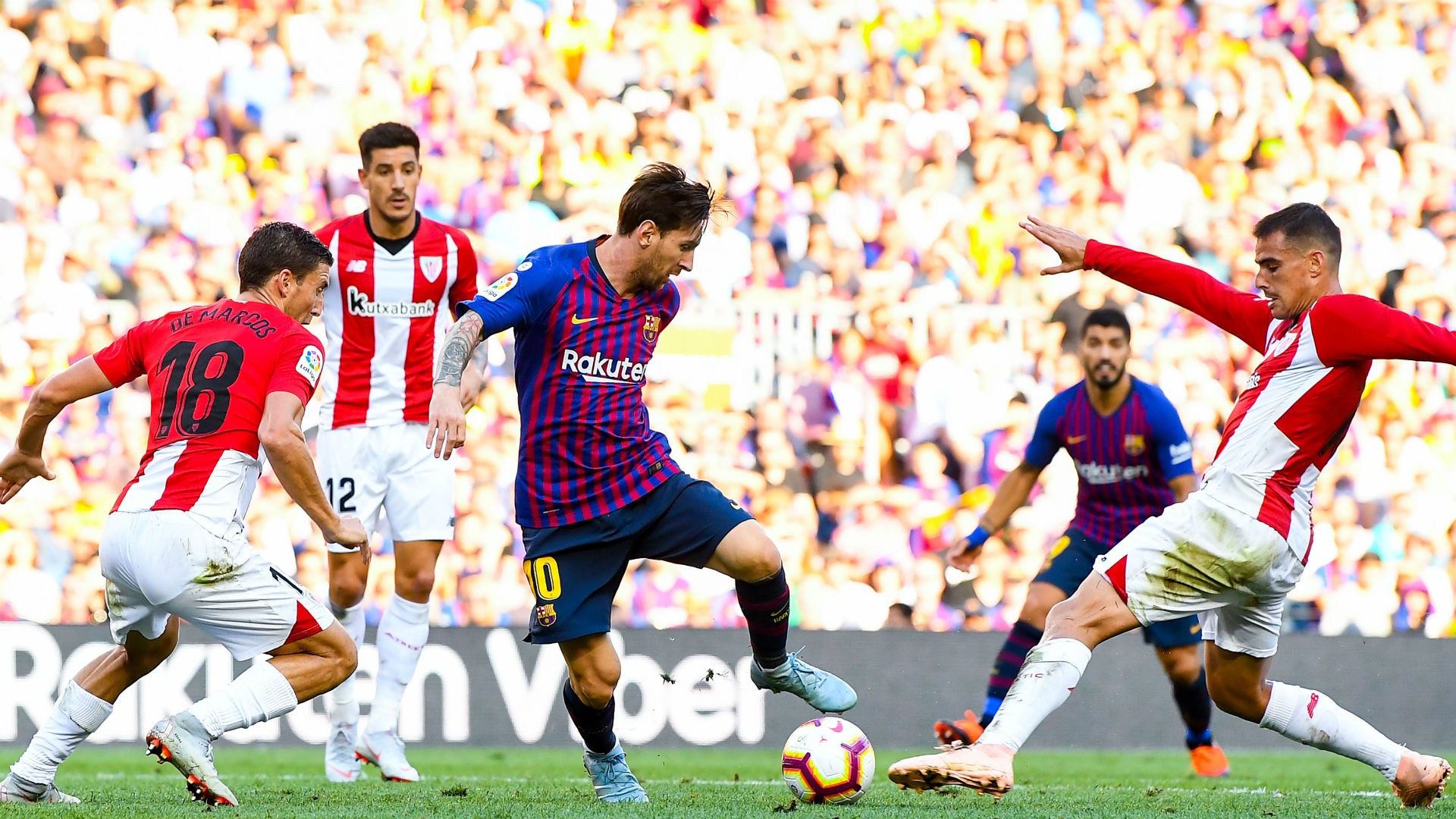 Barcelona held by Athletic for 3rd straight setback in Liga