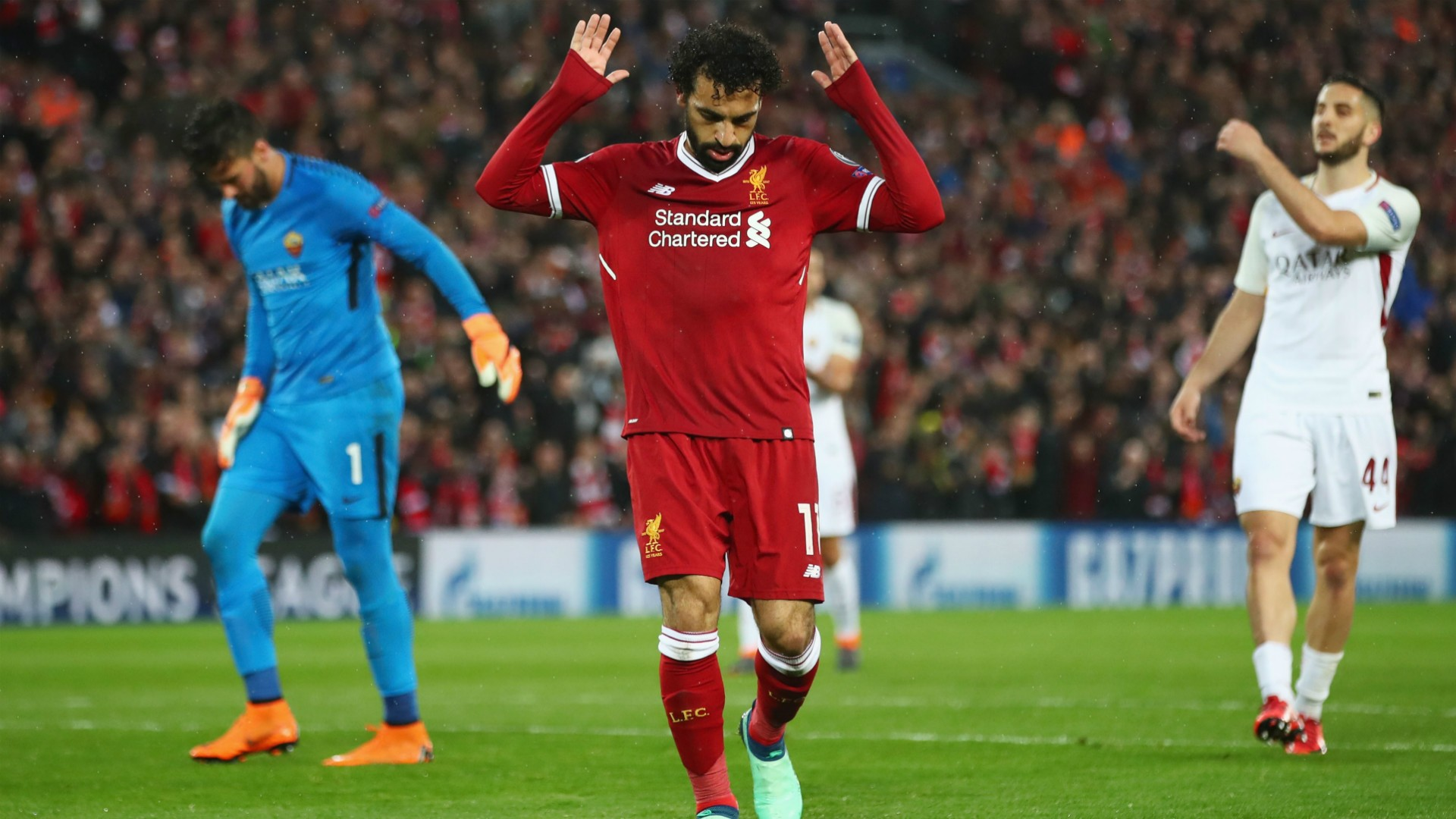 UCL (2017-2018) Report: Liverpool 5 Roma 2 - Salah shines but late comeback offers Giallorossi hope