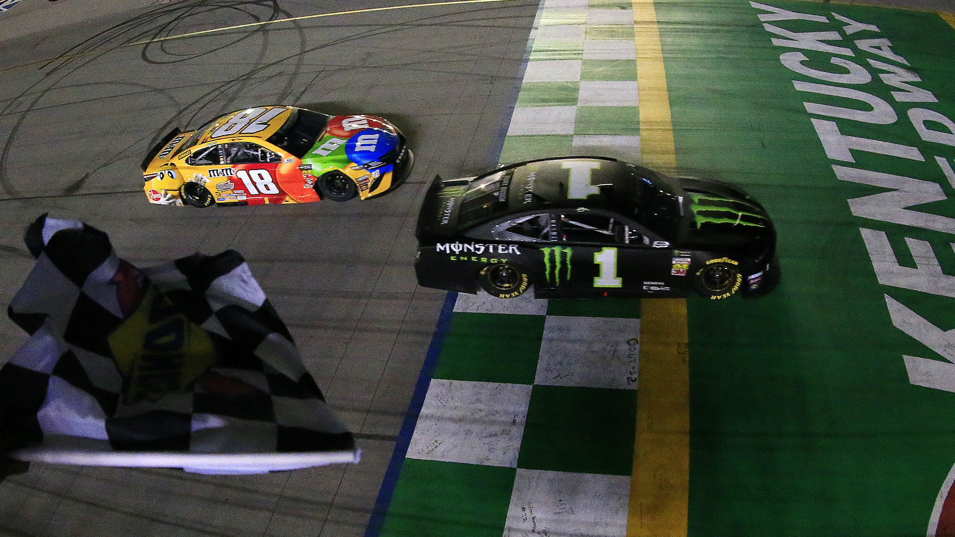 Kyle Busch on finishing second to brother Kurt: 'Wrong end of the deal'