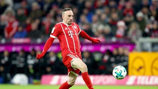 Bayern wrapping up Ribery for Christmas