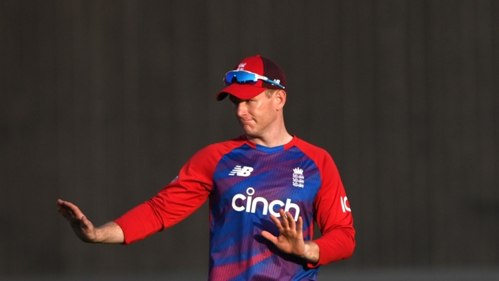 Eoin Morgan's England side were due to play in Pakistan next month