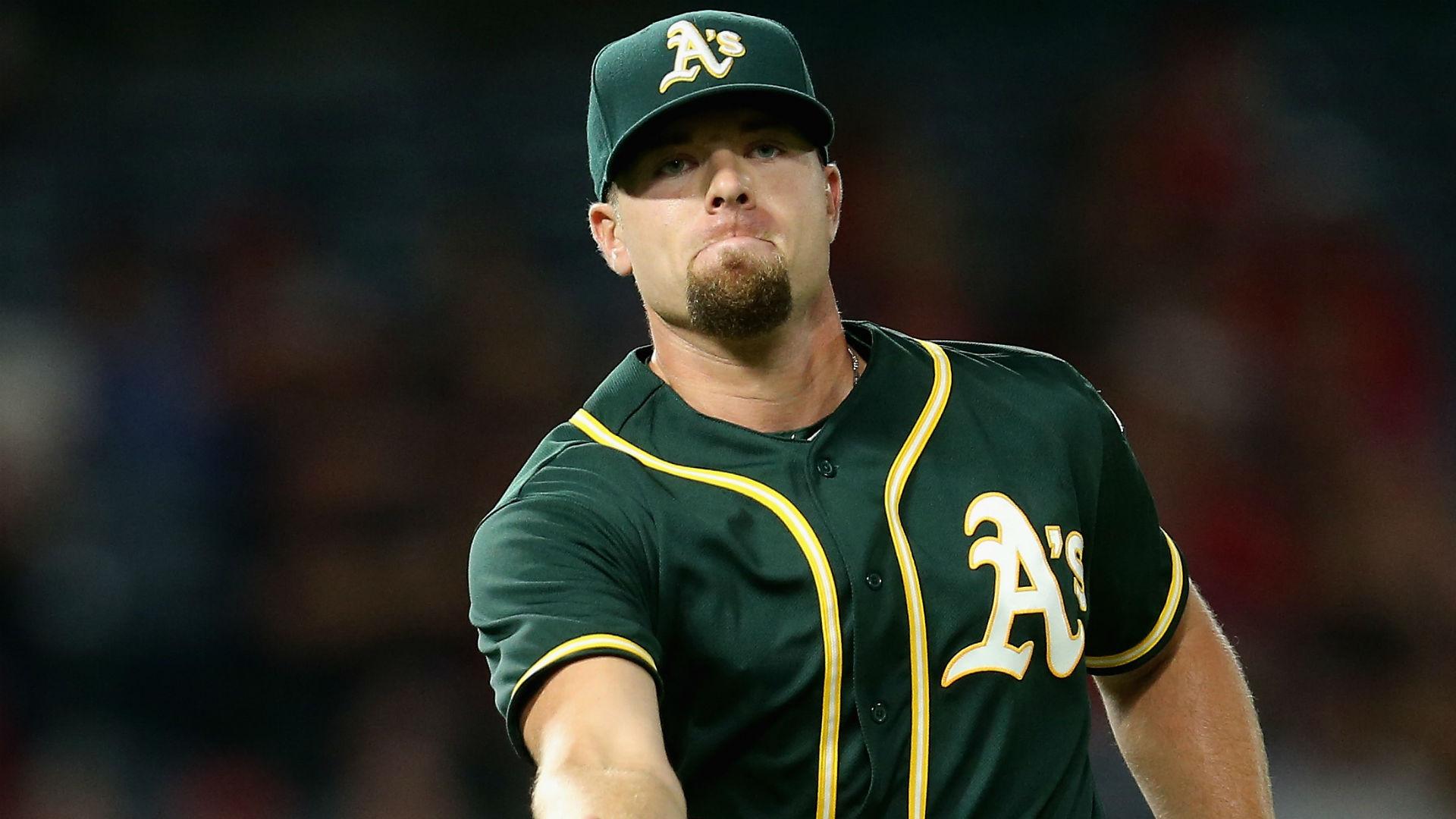 Blake Treinen injury update: Athletics lose reliever (back) for rest of season