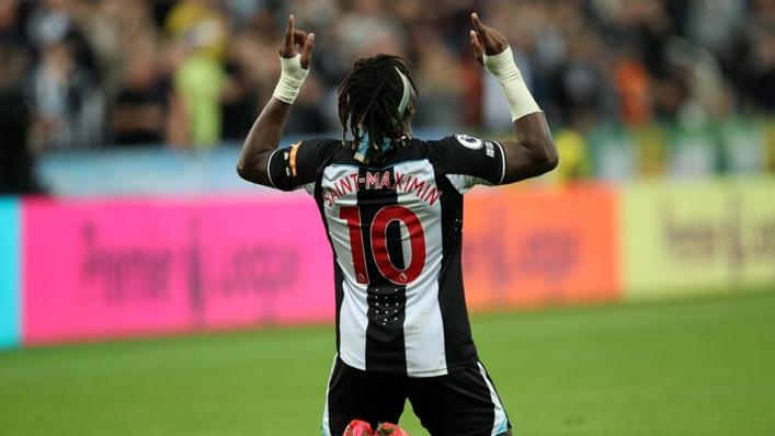 Allan Saint-Maximin is in fine form for Newcastle
