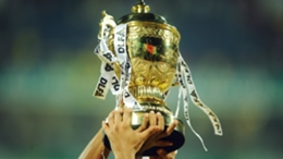 The Indian Premier League trophy
