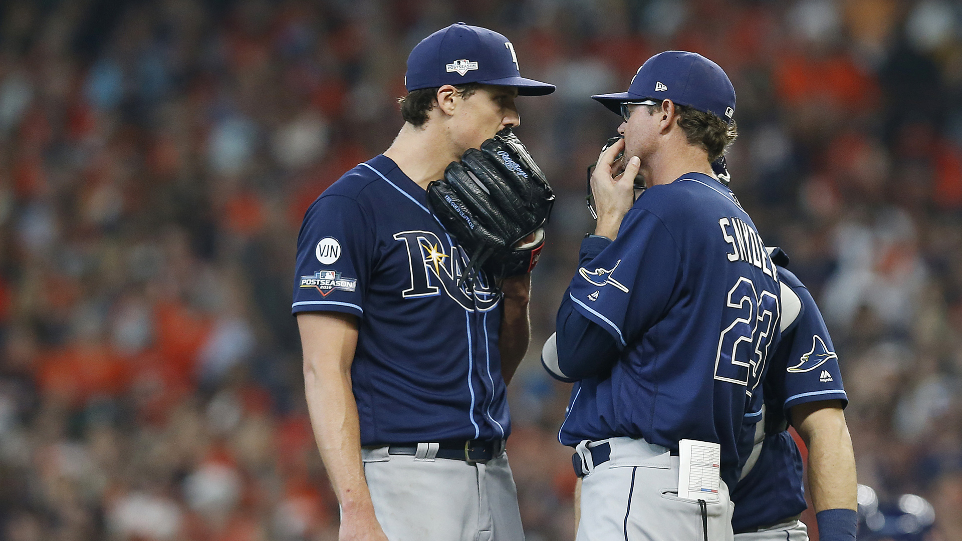 Former pitcher suggests Rays believe Astros are using camera to steal signs in ALDS Game 5