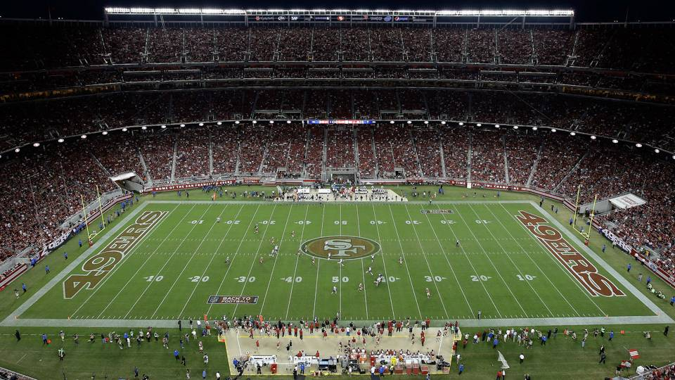49ers will pause operations at Levi's Stadium to honor flag during national anthem