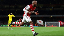 Alexandre Lacazette netted a last-gasp equaliser at the Emirates