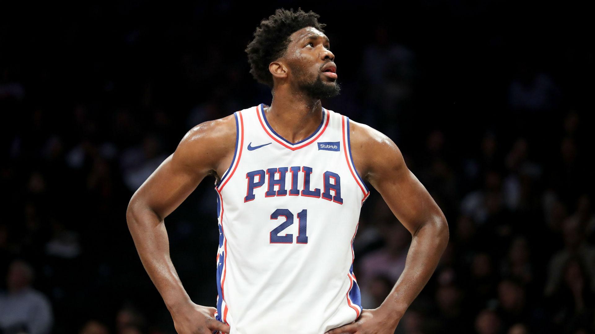 Joel Embiid injury update: 76ers big man (knee) doubtful for Game 4 vs. Nets